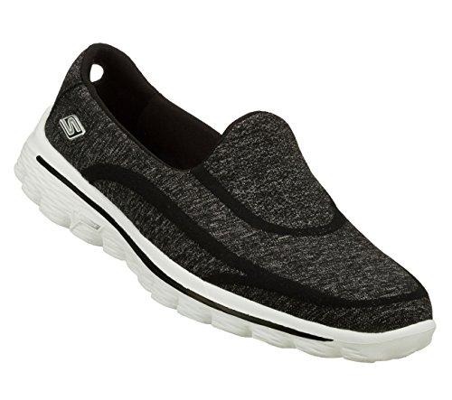Skechers Performance Women's Go Walk 2 Super Sock 2 Slip-On Walking Shoe Review